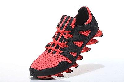 Tênis Adidas Springblade Pro - Masculino - Laranja/Preto
