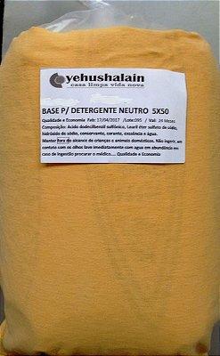 Base p/ detergente 5kg faz 50 Lts. - Preço Único