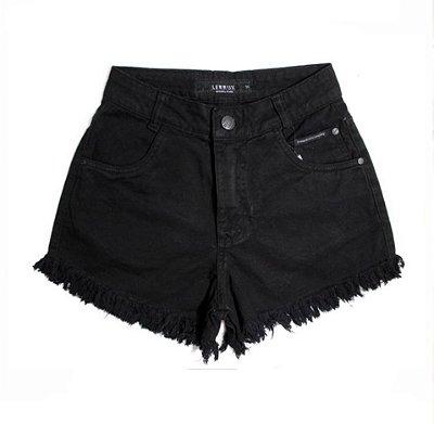 Shorts Jeans Feminino Lerrux Black