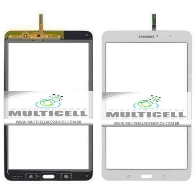 TELA TOUCH SCREEN SAMSUNG T320 GALAXY TAB PRO 8.4' BRANCO ORIGINAL
