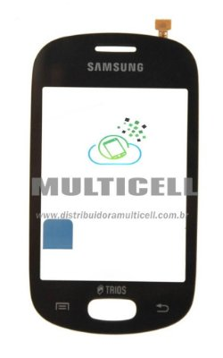 TOUCH SCREEN SAMSUNG S5283 TRIOS PRETO ORIGINAL (GH59-13597A)
