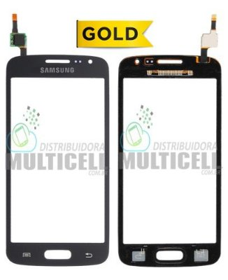 TELA TOUCH SCREEN SAMSUNG G3812 GALAXY S3 SLIM PRETO CINZA GRAFITE 1ªLINHA AAA GOLD