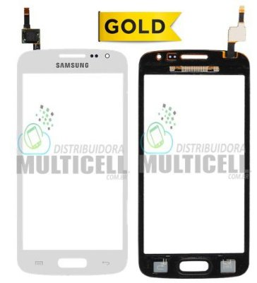 TELA TOUCH SCREEN SAMSUNG G3812 GALAXY S3 SLIM BRANCO 1ªLINHA AAA GOLD