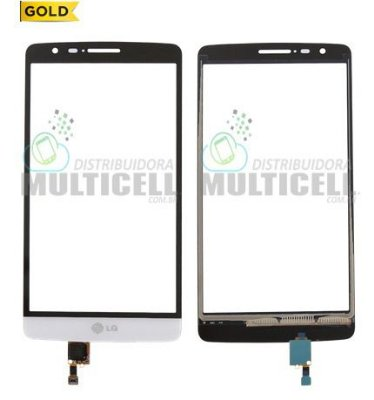 TELA TOUCH SCREEN LG D722 D724 D725 G3 MINI BEAT BRANCO 1ªLINHA AAA