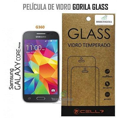PELICULA DE VIDRO DIAMANT SAMSUNG G360 GALAXY CORE PRIME GORILA GLASS