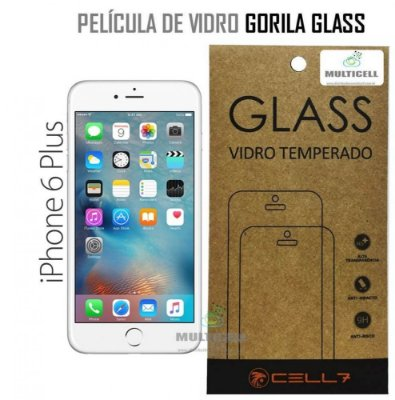 PELICULA DE VIDRO DIAMANT APPLE IPHONE 6 PLUS GORILA GLASS