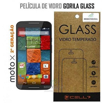 PELICULA DE VIDRO DIAMANT MOT XT1097/XT1098 MOTO X 2ª GERAÇÃO GORILA GLASS