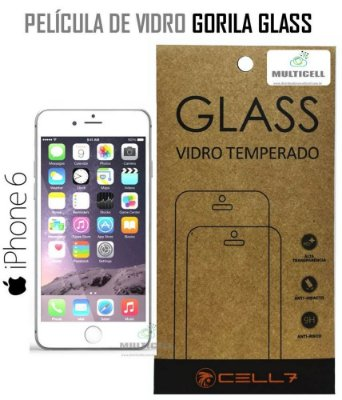 PELICULA DE VIDRO DIAMANT APPLE IPHONE 6 GORILA GLASS