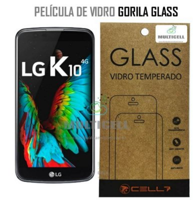 PELICULA DE VIDRO DIAMANT LG K10 K420/K430N GORILA GLASS
