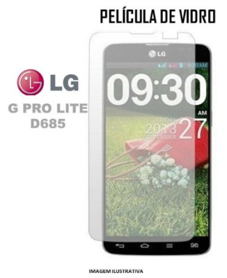 PELICULA DE VIDRO LG D685/D686 G PRO LITE 3.0mm