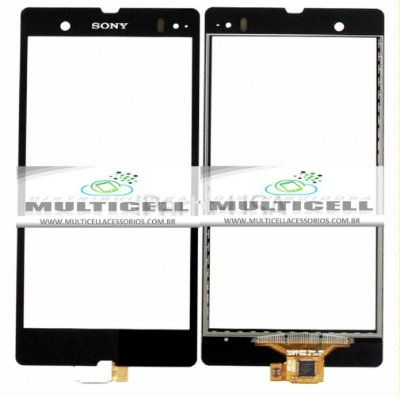 TELA TOUCH SCREEN SONY C6602/C6603/C6605/C6606 L36A XPERIA Z PRETO ORIGINAL