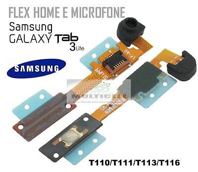 FLEX HOME E MICROFONE T110 T111 T113 T116 SAMSUNG TAB 3 LITE 7' ORIGINAL