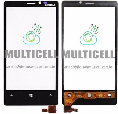 TELA TOUCH SCREEN NOKIA LUMIA 920 PRETO ORIGINAL