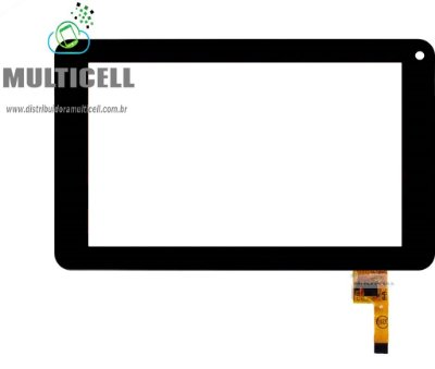 TELA TOUCH SCREEN AOC 7Y2241 BREEZE 7' PRETO ORIGINAL