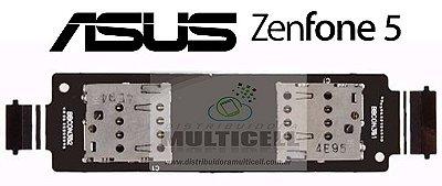 FLEX CONECTOR CHIP SIM CARD ASUS A501 ZENFONE 5 ORIGINAL