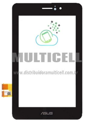 TELA TOUCH SCREEN ASUS ME371 FONE PAD K004 7' PRETO ORIGINAL