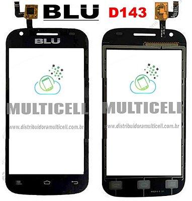 TELA TOUCH SCREEN BLU DASH JR D142K/D143/D143K PRETO ORIGINAL