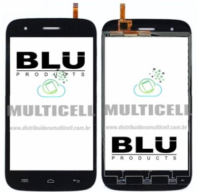 TELA TOUCH SCREEN BLU STUDIO 5.0 D530 PRETO ORIGINAL