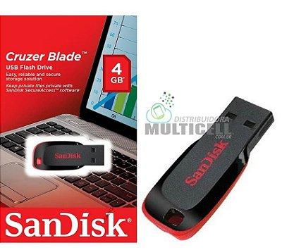 PENDRIVE SANDISK CRUZER BLADE 4GB
