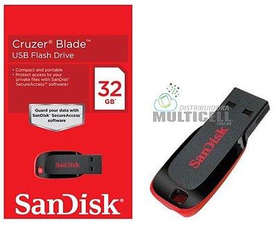 PENDRIVE SANDISK CRUZER BLADE 32GB