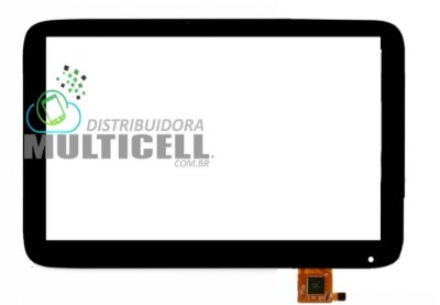 TELA TOUCH SCREEN CCE TE71 MOTION TAB 7' PRETO ORIGINAL