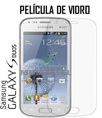 PELICULA DE VIDRO SAMSUNG S7562/S7582 GALAXY S DUOS  2,5mm