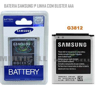 BATERIA SAMSUNG G3812 GALAXY S3 SLIM  EB585158LC  COM BLISTER 1ªLINHA