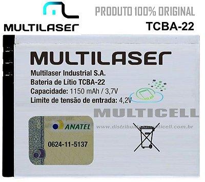 BATERIA  MULTILASER TCBA-22 1150mhA /3,7V ORIGINAL MULTIKIDS BABY AC160
