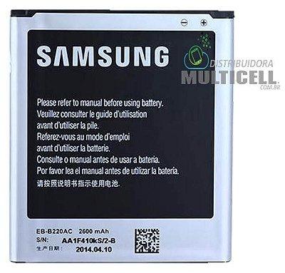 BATERIA SAMSUNG G7102 G7106 EB-B220AE EB-B220AC GALAXY GRAND DUOS 2 1ªLINHA QUALIDADE AAA