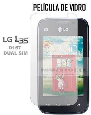 PELICULA DE VIDRO LG D157 L35 DUAL TV 0.3mm