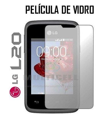 PELÍCULA DE VIDRO LG L20  D100/D105/D107 2,5mm