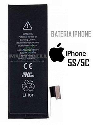 BATERIA APLLE A1533 A1453 A1457 A1530 IPHONE 5S 5C 1ªLINHA AAA