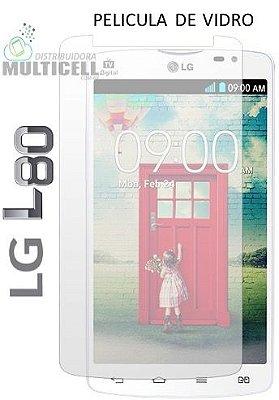 PELICULA DE VIDRO LG D380 D385 L80 2,5mm