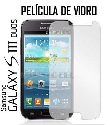PELICULA DE VIDRO SAMSUNG S3 DUOS I8260 I8262 2,5mm