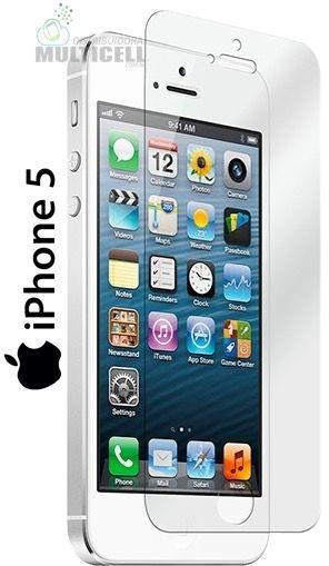 PELICULA DE VIDRO APPLE IPHONE 5 IPHONE 5C IPHONE 5S IPHONE SE (SEM EMBALAGEM)