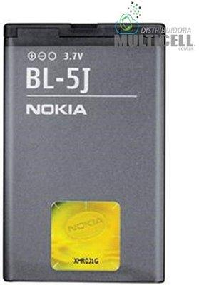BATERIA NOKIA BL5J BL-5J  N520/5800/5230/5233/5235/N200/N201/C3-00/N900/X101-X6-00 1ªLINHA