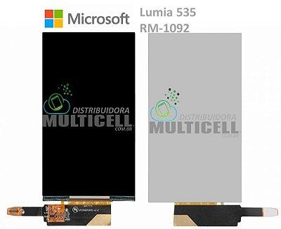 DISPLAY LCD MICROSOFT LUMIA 535 RM-1092 1ªLINHA AAA