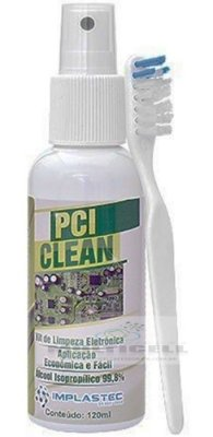 KIT DE LIMPEZA PCI CLEAN ISOPROPILICO 99,8% IMPLASTEC