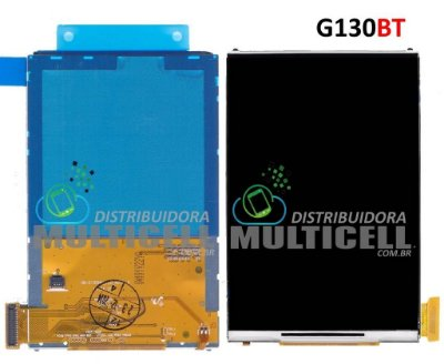 DISPLAY LCD SAMSUNG G130BT G130BU GALAXY YOUNG 2 1ªLINHA AAA
