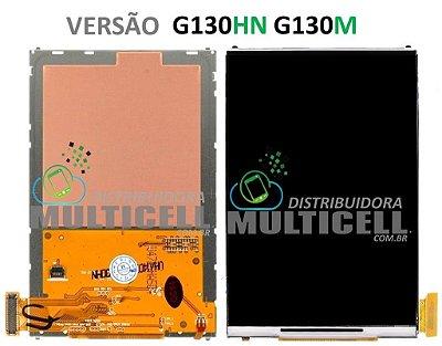 DISPLAY LCD SAMSUNG G130 HN/G130 M GALAXY YOUNG 2 VERSÃO HN/M 1ªLINHA
