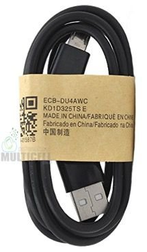CABO MICRO USB V8 CARGA E DADOS MODELO SAMSUNG PRETO 1ªLINHA
