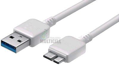 CABO USB 3.0 G900 S5/N9005 NOTE 3/HD EXTERNO CARGA E DADOS