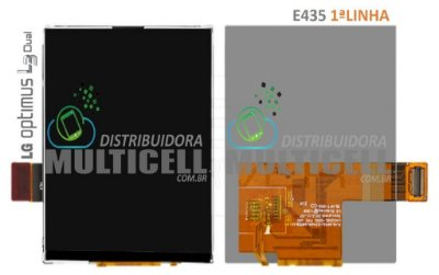 DISPLAY LCD LG E425 E430 E435 L3 II 1ªLINHA