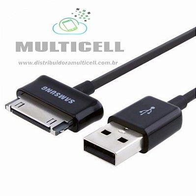 CABO USB MODELO TABLET TAB P3100/P3110/P6200/P6800 1°LINHA QUALIDADE GOLD