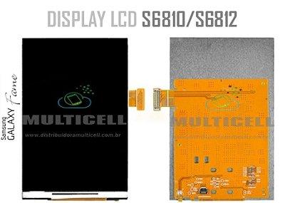 DISPLAY LCD SAMSUNG S6810 S6812 FAME 1ªLINHA