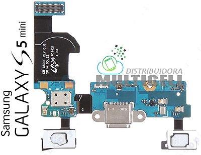 FLEX DOCK CONECTOR DE CARGA USB G800 G800F SAMSUNG GALAXY S5 MINI ORIGINAL