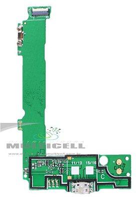 FLEX DOCK CONECTOR DE CARGA USB MICROSOFT LUMIA 535 RM-1092 1ªLINHA AAA