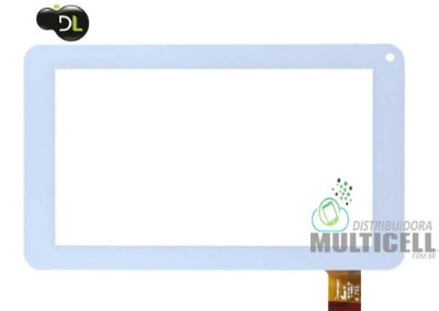 TELA TOUCH SCREEN TABLET DL DROID TV DR T71 DL1603 M7-S M7-i  7' BRANCO