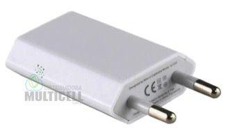 FONTE UNIVERSAL USB 5V 1.0A  BRANCA UNIVERSAL