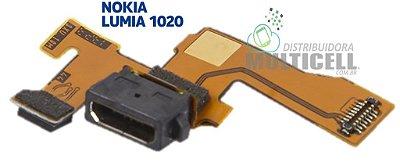 FLEX DOCK CONECTOR DE CARGA MICROFONE NOKIA LUMIA 1020 ORIGINAL